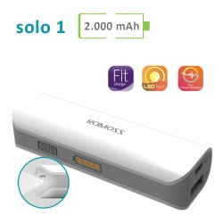 Power Bank Romoss - Solo 1 - 2000 mAh
