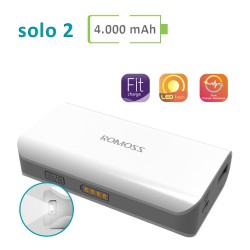 Power Bank Romoss - Solo 2 - 4000 mAh