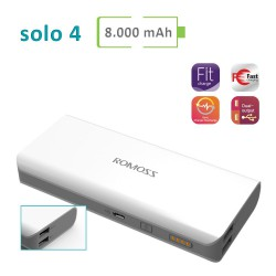 Power Bank Romoss - Solo 4 - 8000 mAh