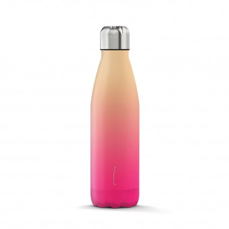 The Steel Bottle Shade Series - peach